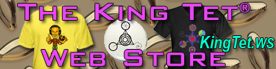 The King Tet Web Store - shirts, mugs, buttons and more!